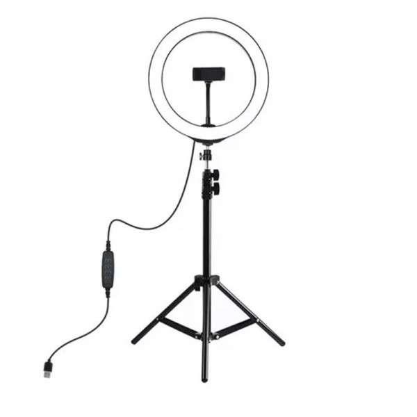 Aro de luz selfie con trípode Kolke - 0