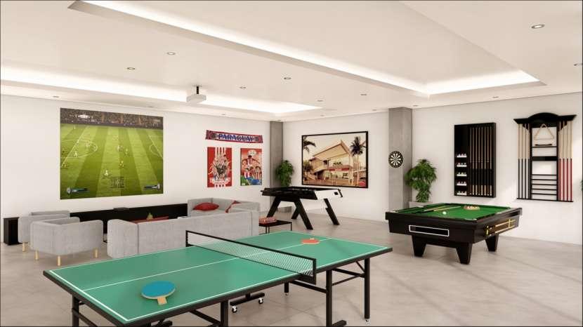 Departamento 2 dormitorios planta baja con patio 100 m2 - 2