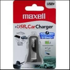 Maxell cargador para auto