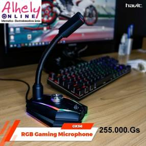 Havit micrófono RGB gaming