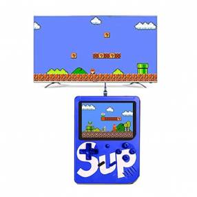 Consola Sup Game Box Retro 400 en 1 azul