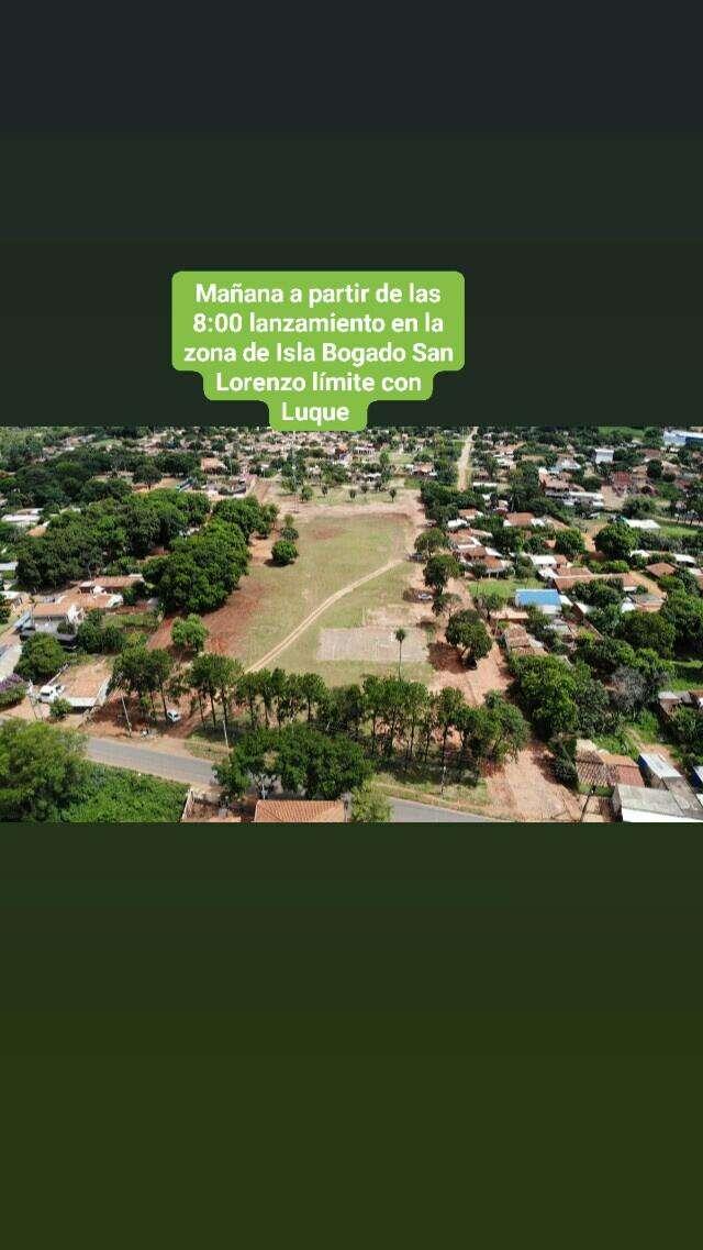 Terreno en Isla Bogado - 0