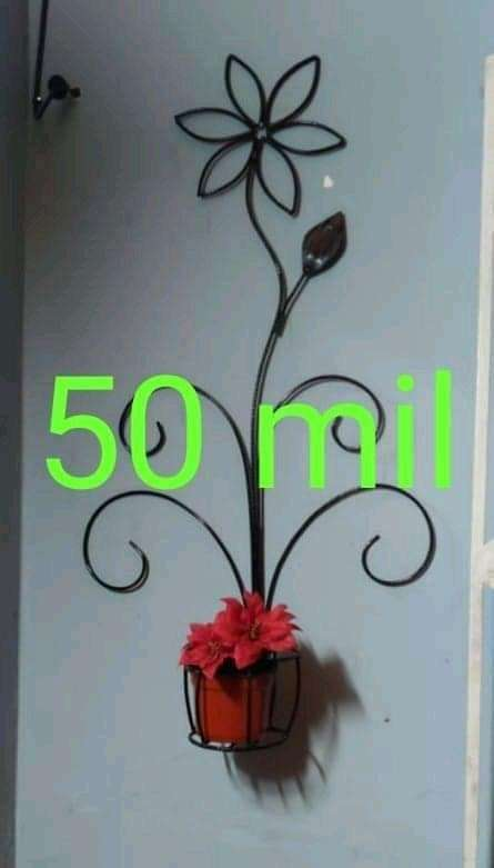Porta planteras de pared - 8