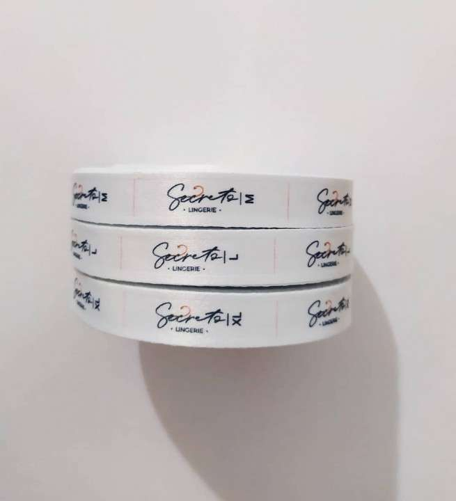 Etiquetas para ropas cinta personalizada - 1
