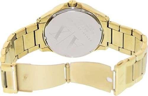 Reloj masculino armani exchange dorado - 3