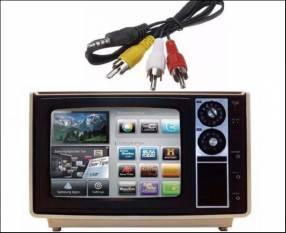 Cable TV BOX para TV antiguo o de tubo
