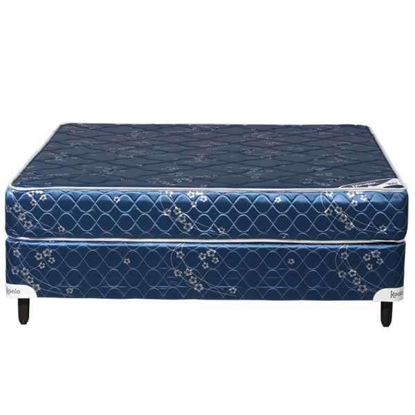 Base y colchón sommier Koala Dormilón sin pillow 140x190 azul - 0