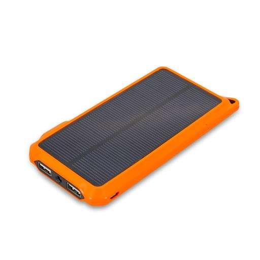 Cargador solar con linterna LED capacidad alta de carga - 0