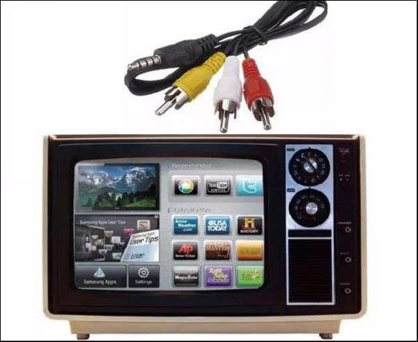 Cable TV BOX para TV antiguo o de tubo - 1