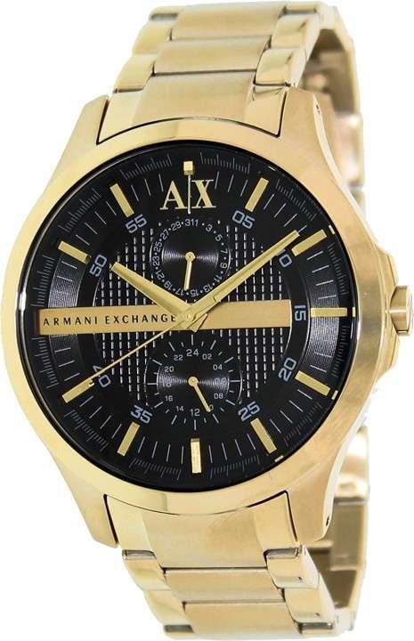 Reloj masculino armani exchange dorado - 0