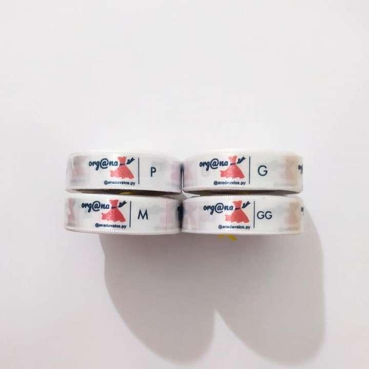 Etiquetas para ropas cinta personalizada - 4