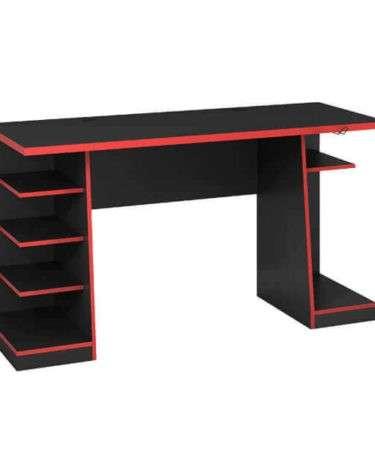 Mesa gamer NT2020 Abba rojo negro - 0