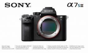 Cámara Sony A7S III Cuerpo