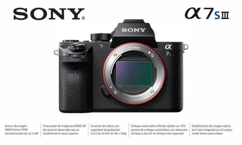 Cámara Sony A7S III Cuerpo - 0