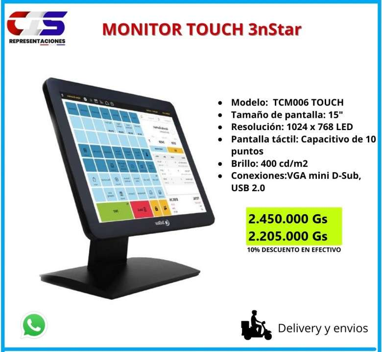 Monitor touch 3nStar - 0