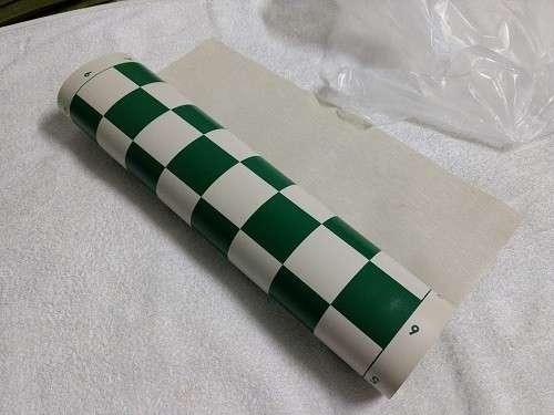 Tablero de ajedrez enrollable de 50x50 cm color verde - 4