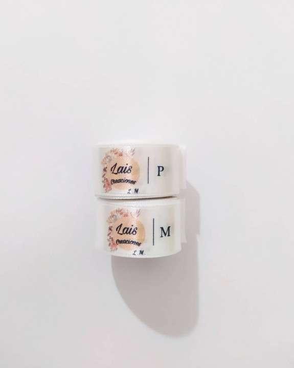 Etiquetas para ropas cinta personalizada - 3