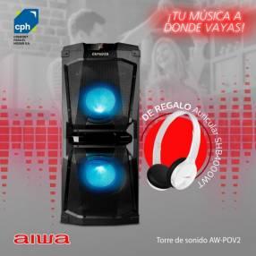 Torre de sonido Aiwa AW-POV2