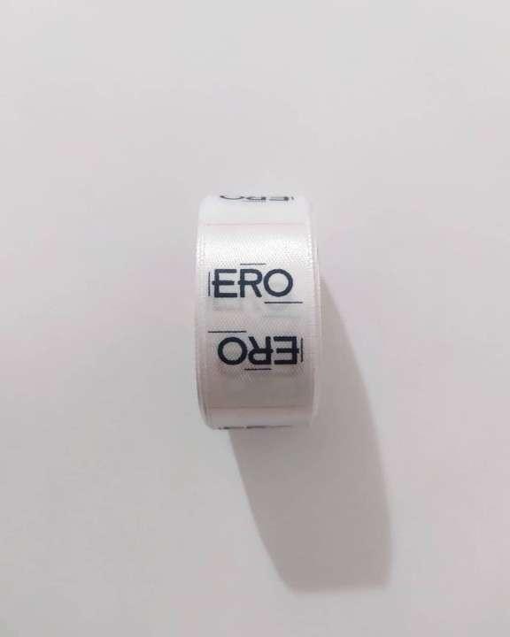 Etiquetas para ropas cinta personalizada - 0