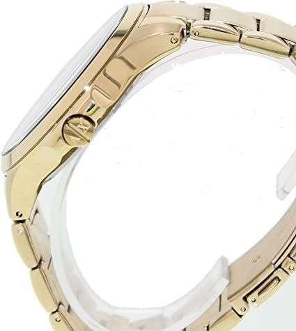 Reloj masculino armani exchange dorado - 2
