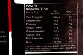 Pizza Fit con Masa de Avena - Belite