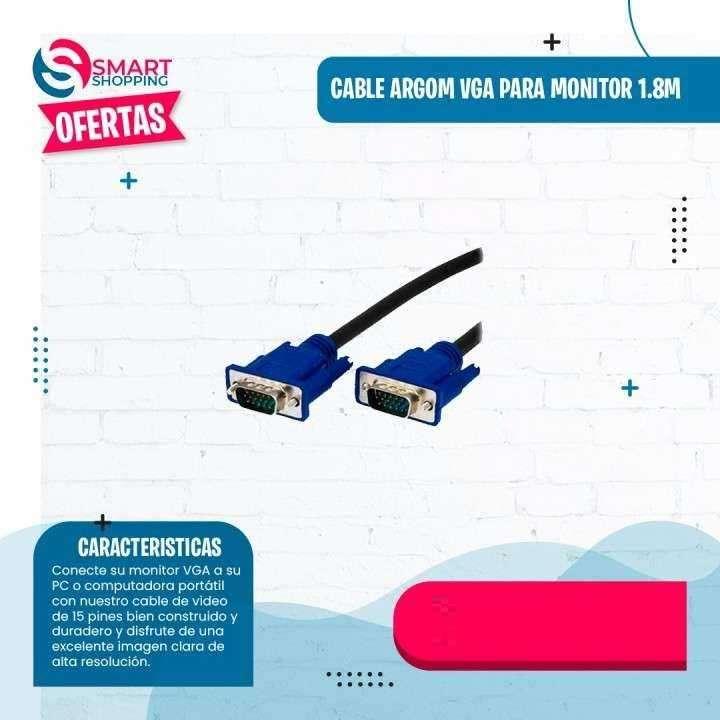 Cable VGA para monitor 1.8M - 0