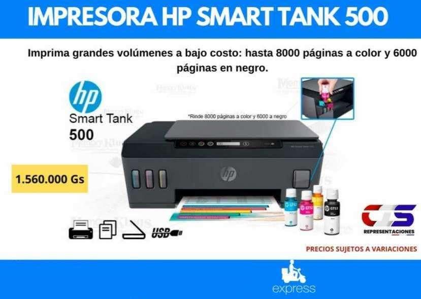 Impresora HP Smart Tank 500 - 0
