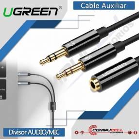 Cable Auxiliar UGreen divisor de audio y micrófono