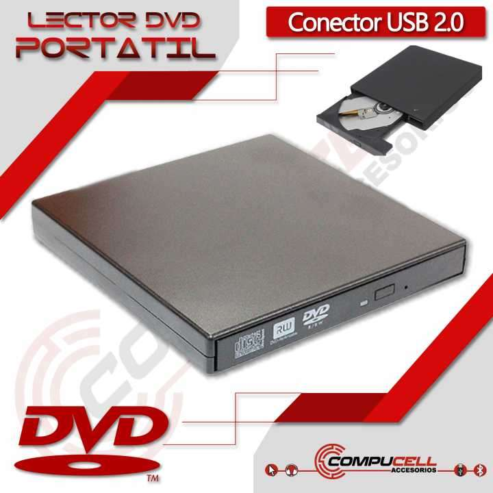 Lector DVD portátil ultra delgado usb 2.0 - 0