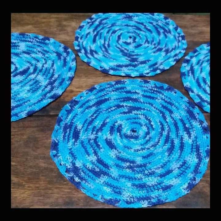Individuales de crochet - 2