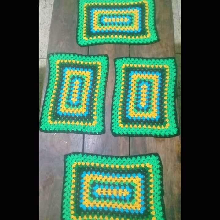 Individuales de crochet - 0