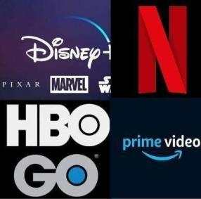 Cuentas de Netflix o Disney