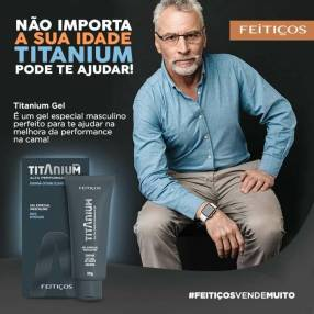 Titanium gel masculino