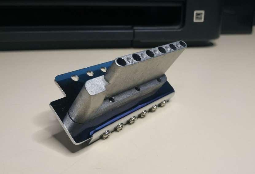 Puente completo para guitarra eléctrica tipo Stratocaster - 1