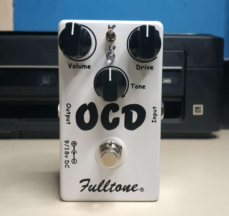 Pedal de overdrive/distorsión OCD - 1