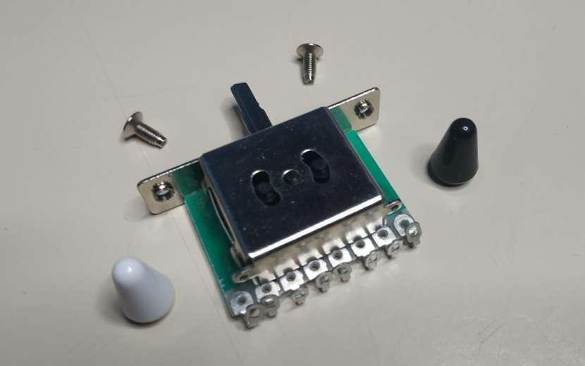 Switch/Interruptor de 3 posiciones para guitarra eléctrica - 0
