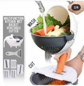 Rallador de verduras con canasta