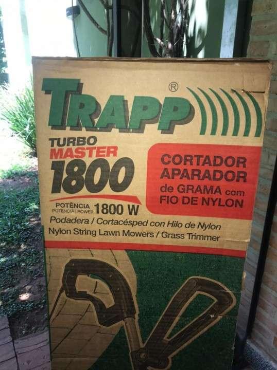 Bordeadora Trapp turbo master con hilo de nylon - 1