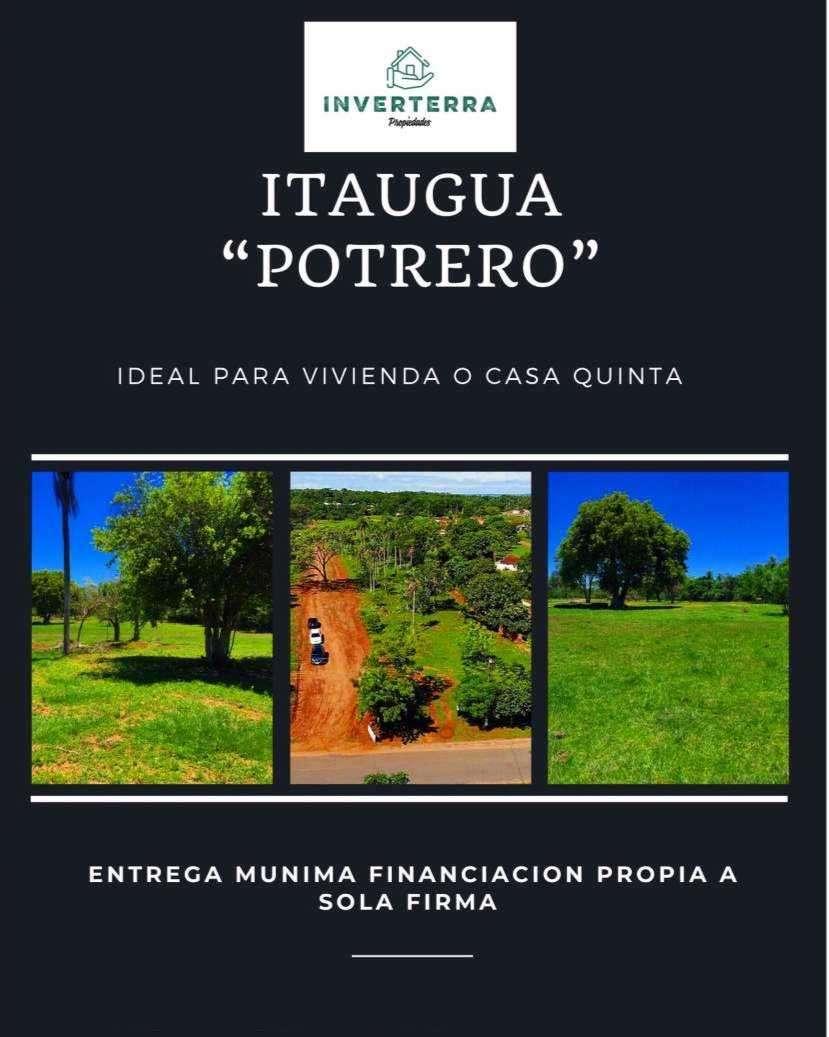 Terrenos en Itauguá Potrero - 0