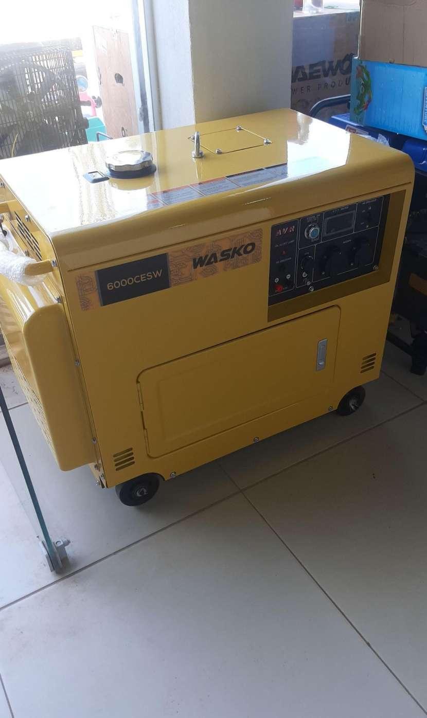 Generador Wasko cabinado diésel 6000cesw - 0