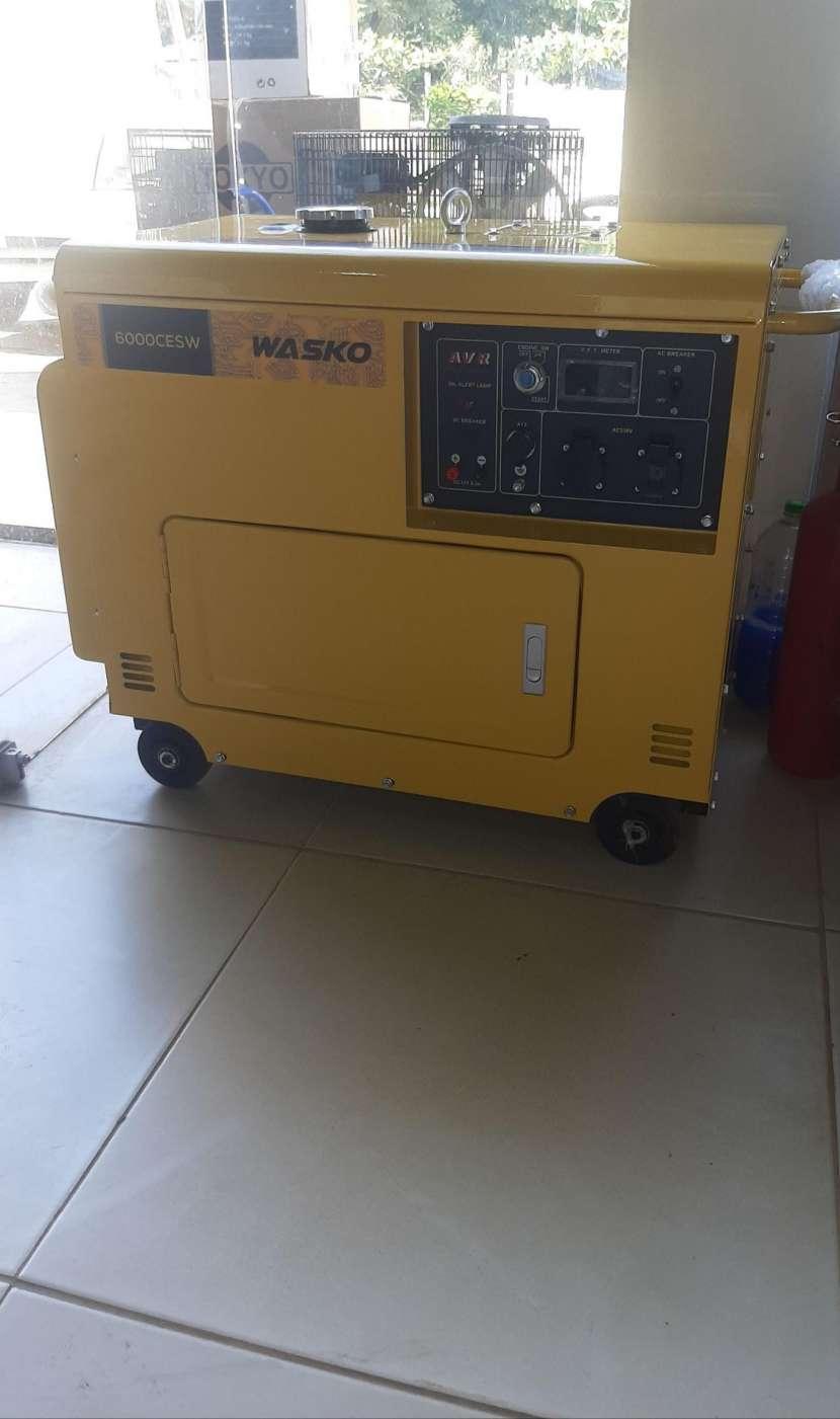 Generador Wasko cabinado diésel 6000cesw - 1