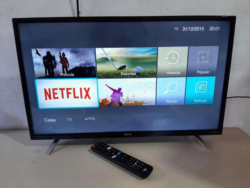 Smart TV Tokyo de 32 pulgadas - 1