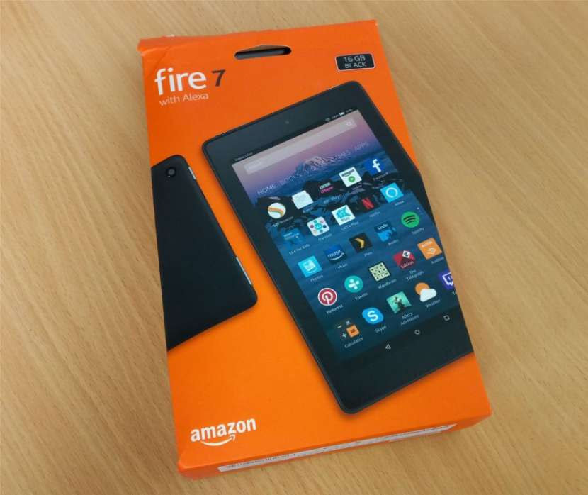 Tablet Fire 7 Amazon de 16 gb a wifi - 1
