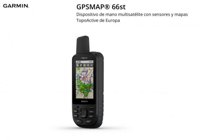 GPS Garmin GPSMAP 66ST - 0
