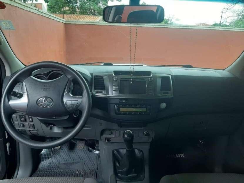 Toyota Hilux srv 2015 motor 3000 turbo diésel intercooler mecánico 4x2 - 2