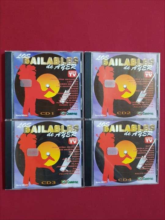 Colección Los Bailables de Ayer - 0