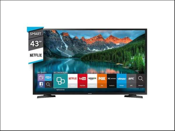 Smart TV Samsung de 43 pulgadas - 0