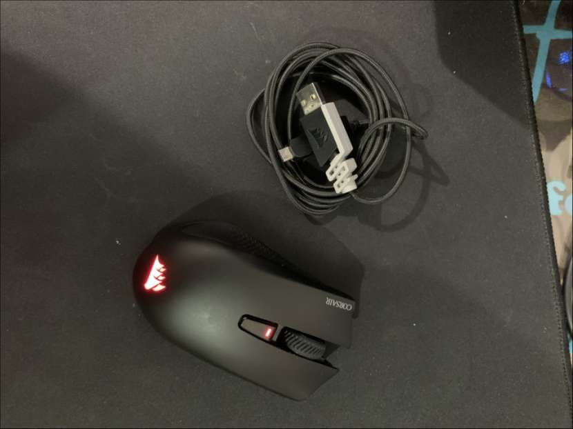 Mouse gamer Corsair Harpoon RGB wireless - 4