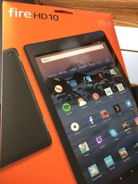 Tablet Amazon Fire HD 10.1 pulgadas de 64 gb - 1