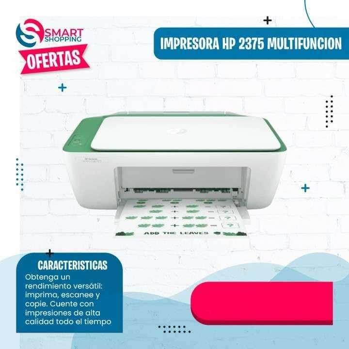 Impresora HP 2375 multifunción - 0